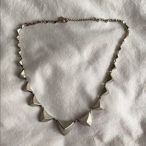 House of Harlow silver necklace